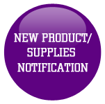 New Product Supplies Notifications